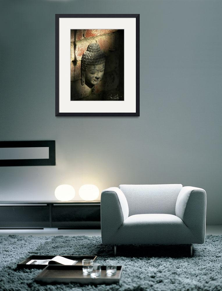 """""""Buddha In Darkness and Light&quot  (2007) by DigiPho333"""