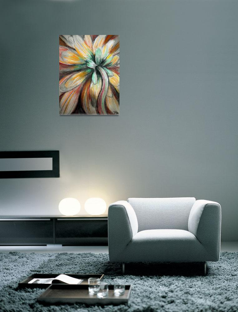 """""""Bloom&quot  (2007) by tealdesigns"""