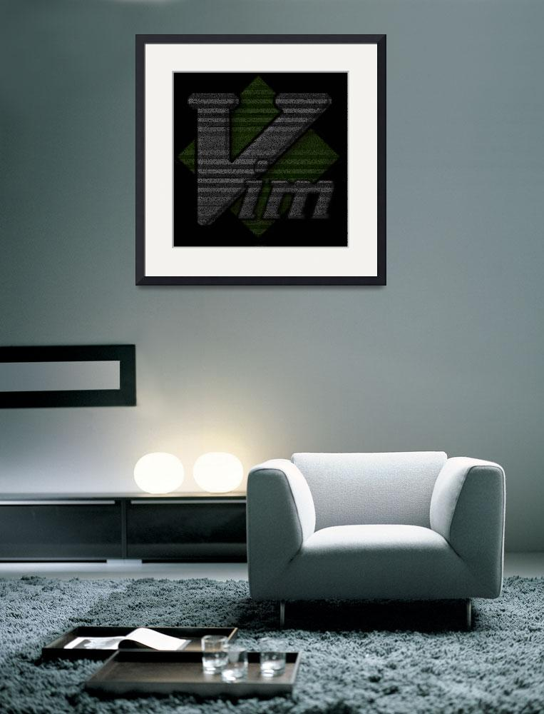 """Vim Poster&quot  (2010) by 0xfe"
