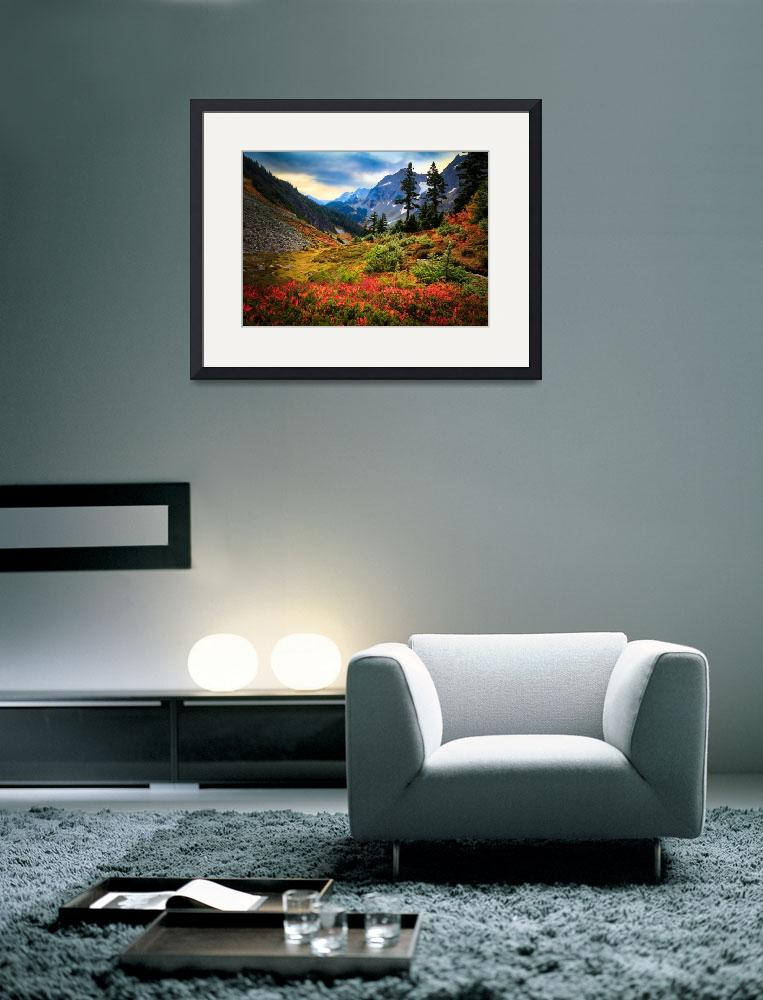 """""""Cascade Pass Fall&quot  (2010) by Inge-Johnsson"""