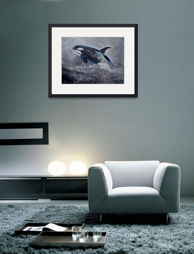 """The Killer Whale No. 2""  (2008) by seascapeartist"
