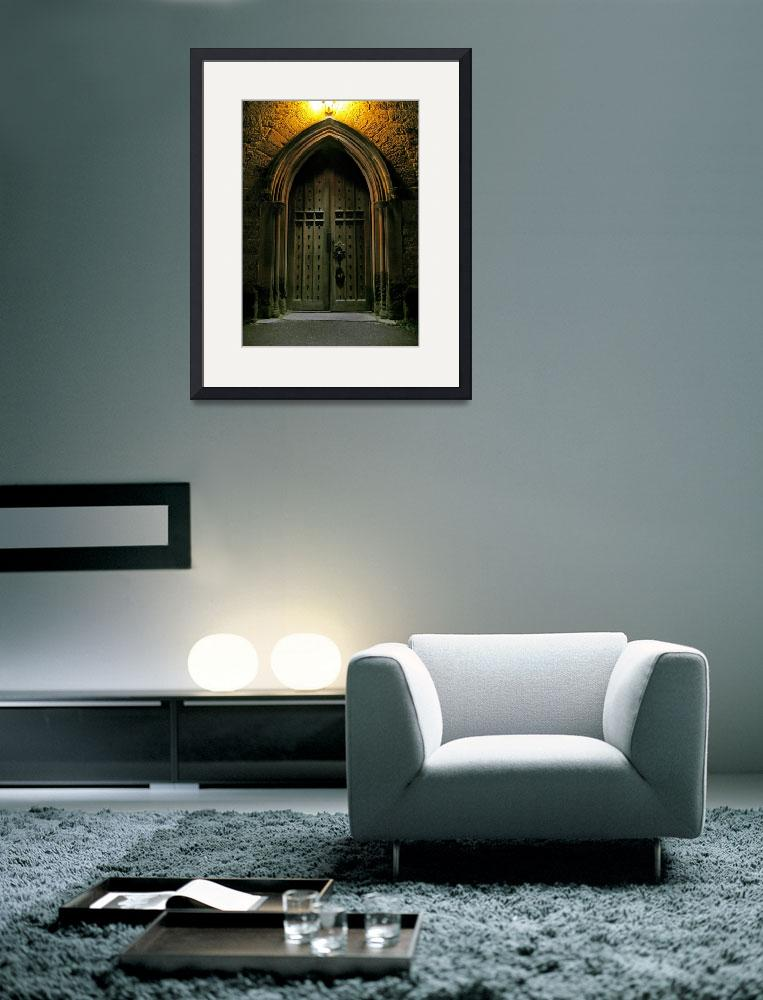 """""""South Door Christ Church Cathedral (1)&quot  (2010) by Markomarko"""