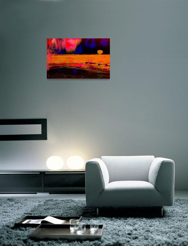 """""""yellow sunset""""  (2008) by shanmaree"""