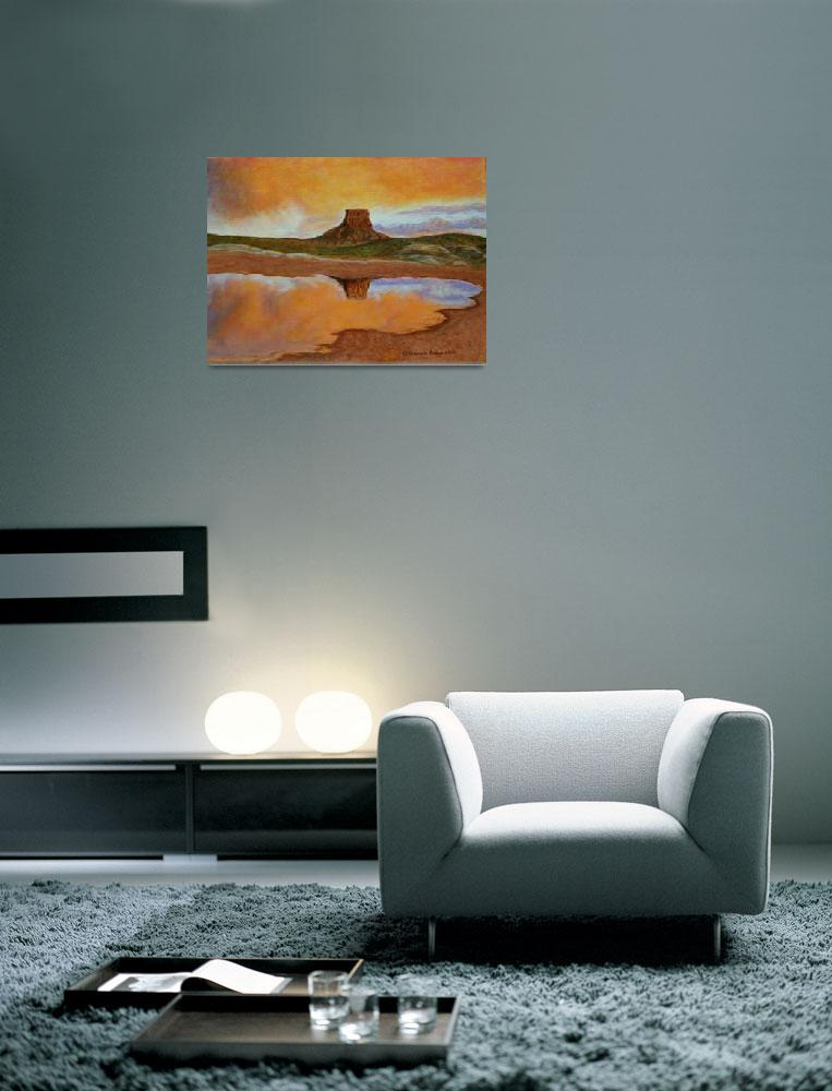"""""""Sunset Blessings, Southwest Desert Sunset by Brend&quot  (2012) by"""