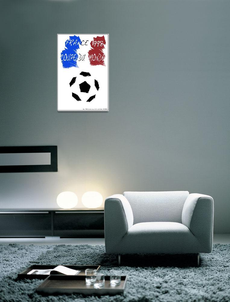 """FRANCE 1998 WORLD CUP""  (2010) by Eusebius"