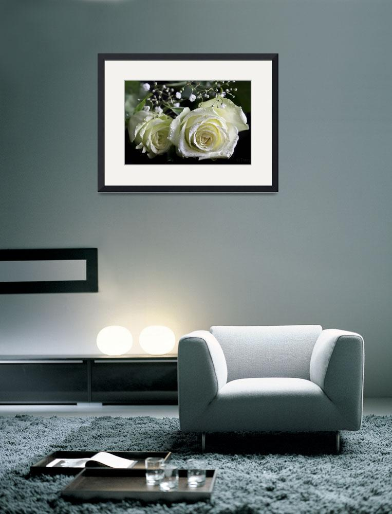 """""""White Roses&quot  (2012) by Tracy2912"""