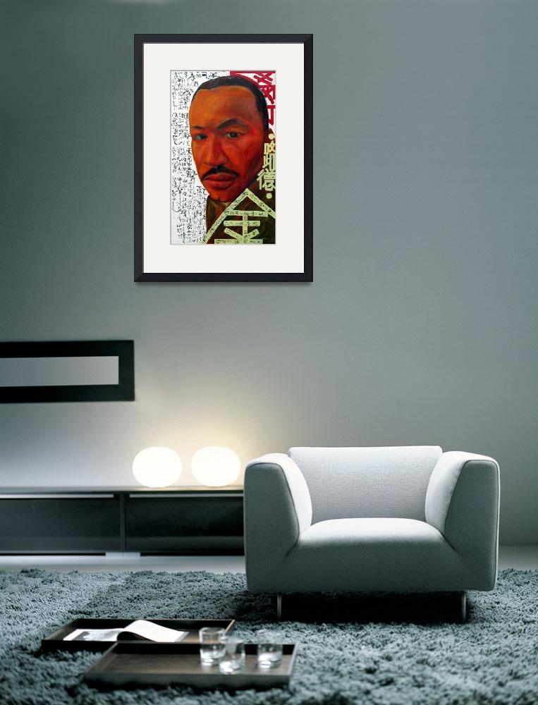 """""""Martin Luther King&quot  (2007) by centurymountain"""
