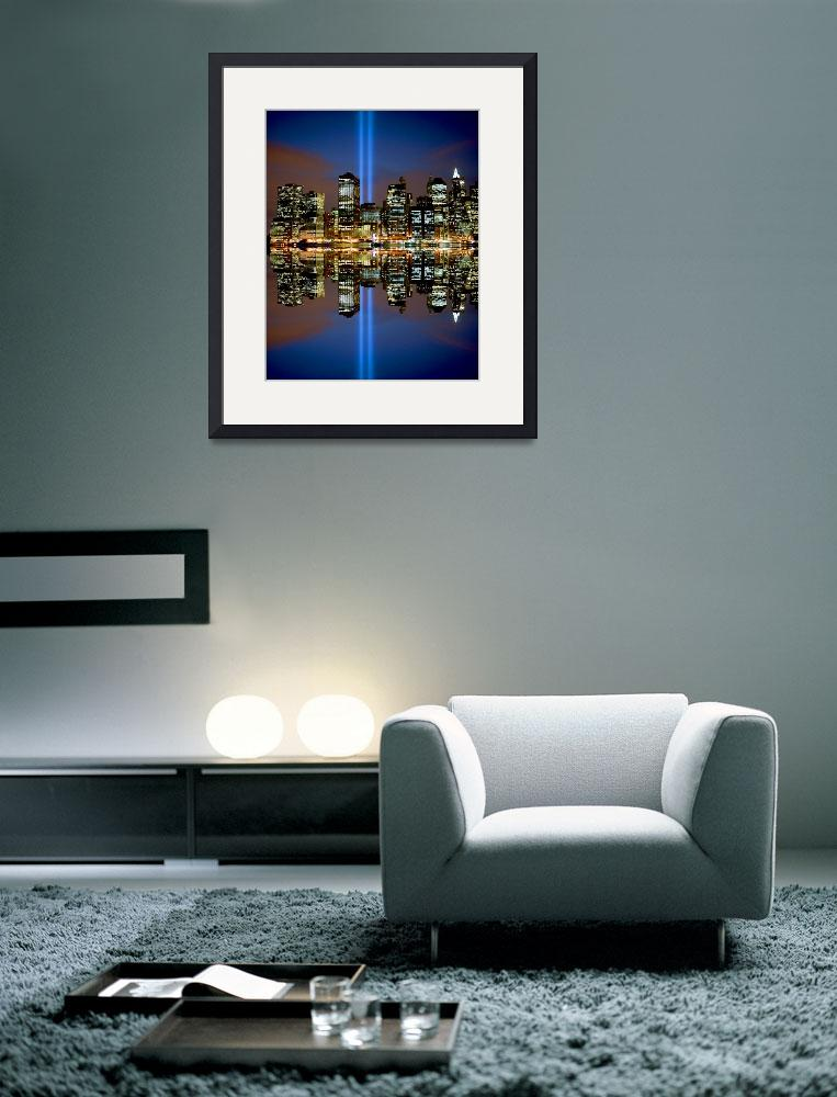 """""""Reflections of 911 in NYC&quot  by New-Yorkled"""