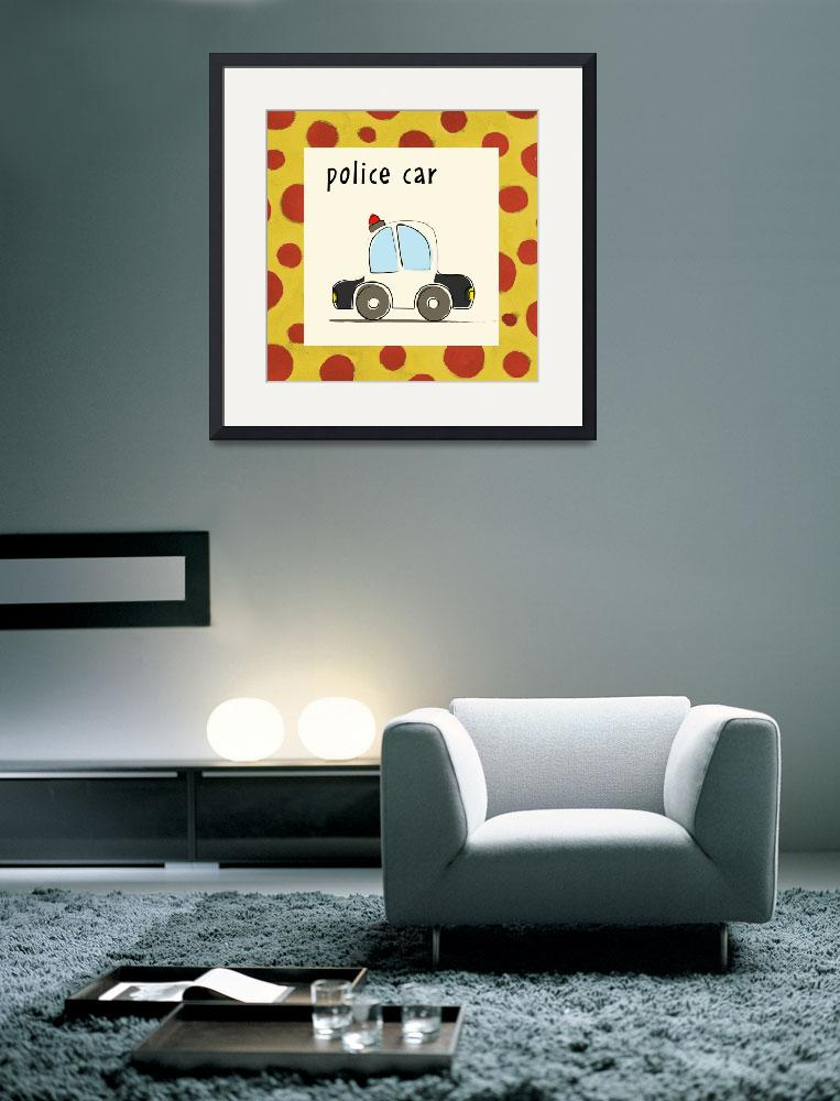 """""""Police Car&quot  by artlicensing"""
