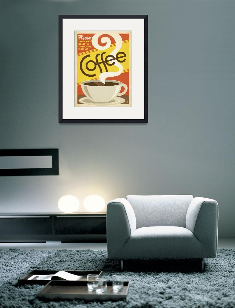"""""""Coffee Addict - Retro Poster""""  by artlicensing"""