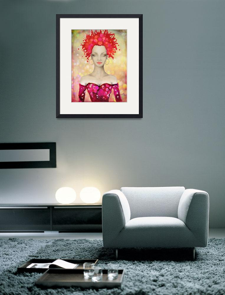 """""""Crazy Pink Hair night out&quot  by Art_by_Lilia"""