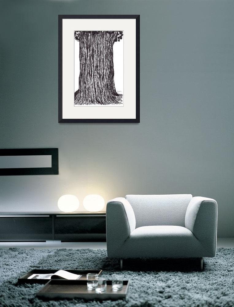 """""""The Old Tree&quot  (2011) by cruz"""