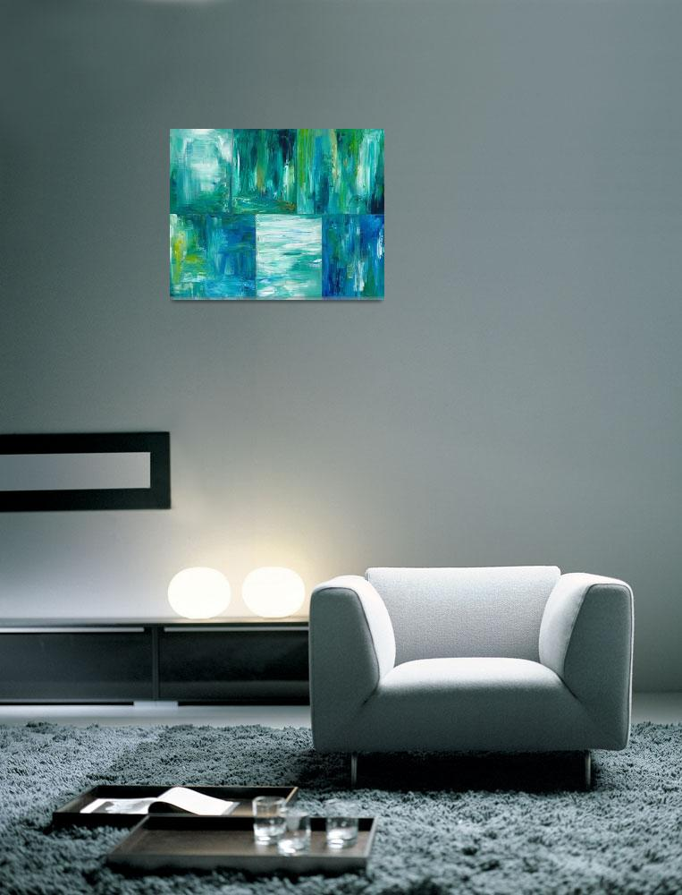 """""""A Study of Green - Abstract""""  (2010) by mistypoe"""