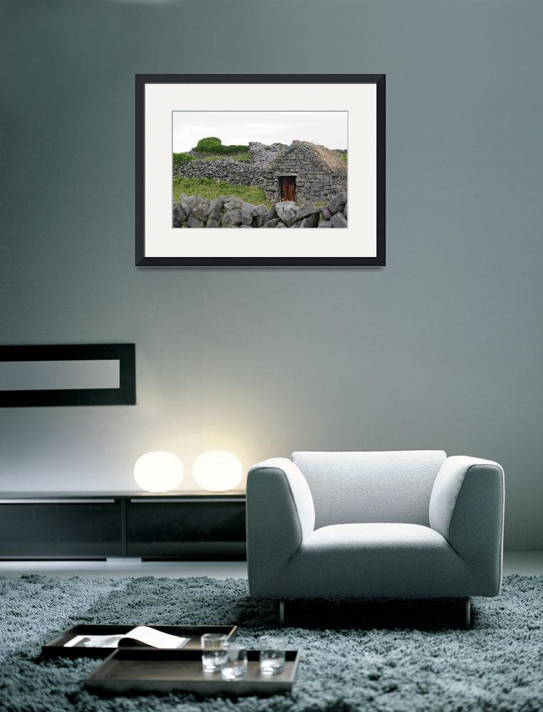 """Inis Meáin Thatched Cottage&quot  (2009) by staceybassoon"