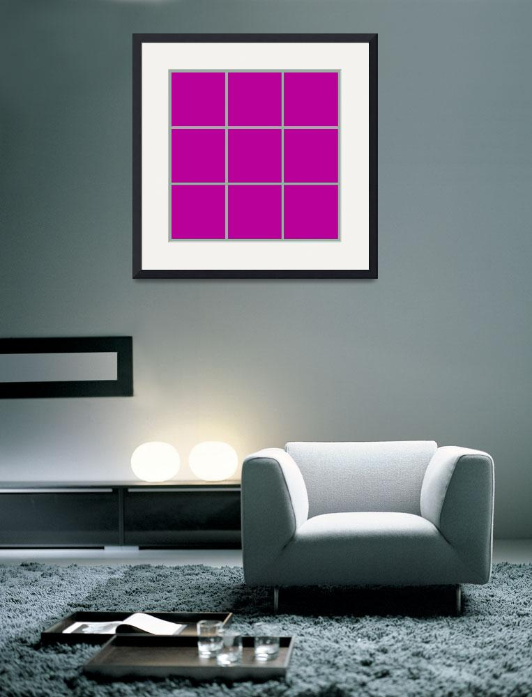 """Violet Window 186 Canvas Contemporary Modern&quot  (2010) by Ricardos"
