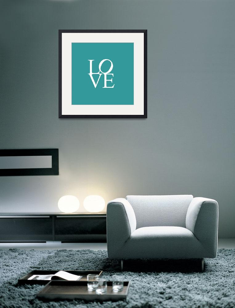 """""""Love in Teal""""  by motionage"""