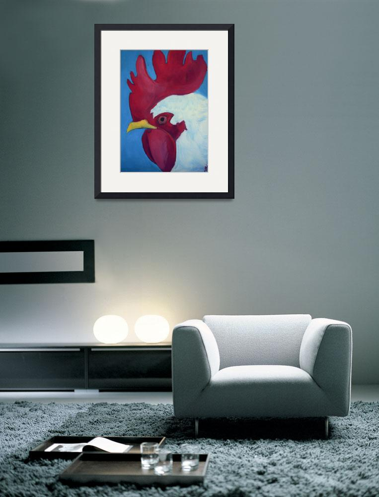 """""""Red Rooster&quot  (2006) by artchiz"""