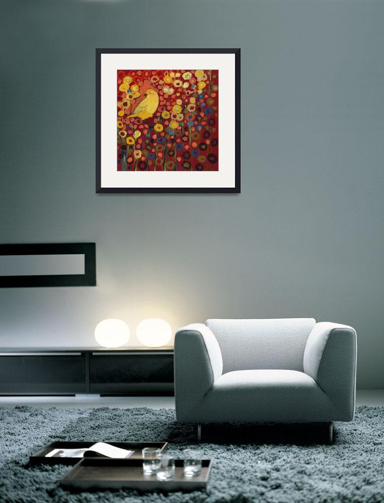 """""""Canary in Red&quot  (2008) by JENLO"""