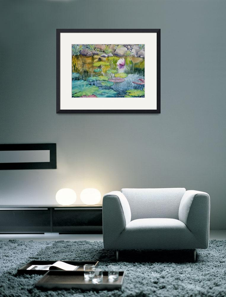 """Waterlilies Collection  II-08&quot  (2008) by mgcruz"