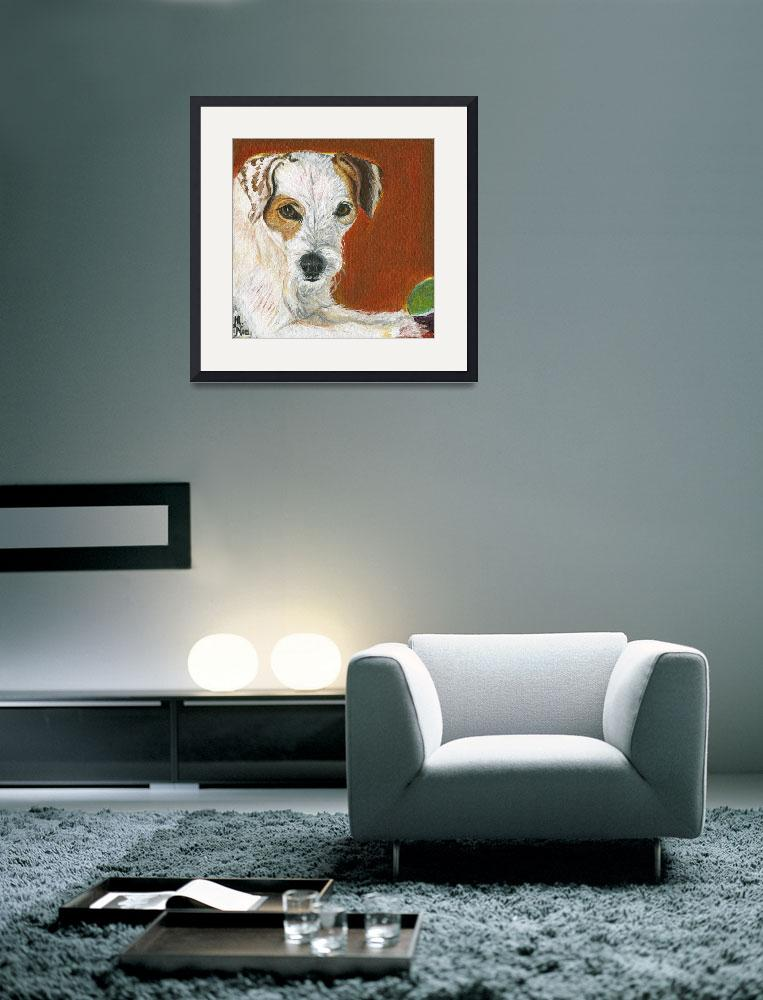 """""""Jack Russell&quot  by MichelleNoe"""