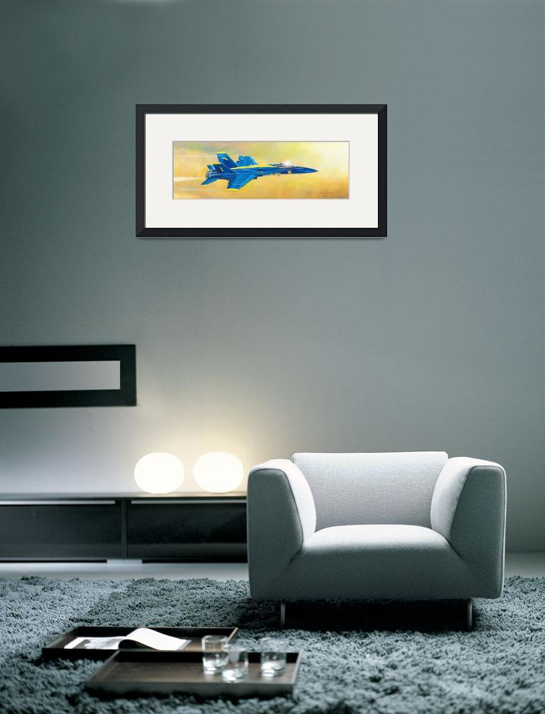 """""""Blue Angel""""  (2014) by DNCartist"""