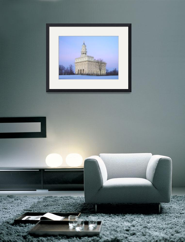 """""""Nauvoo Temple / Winter&quot  by TerrySpringer"""