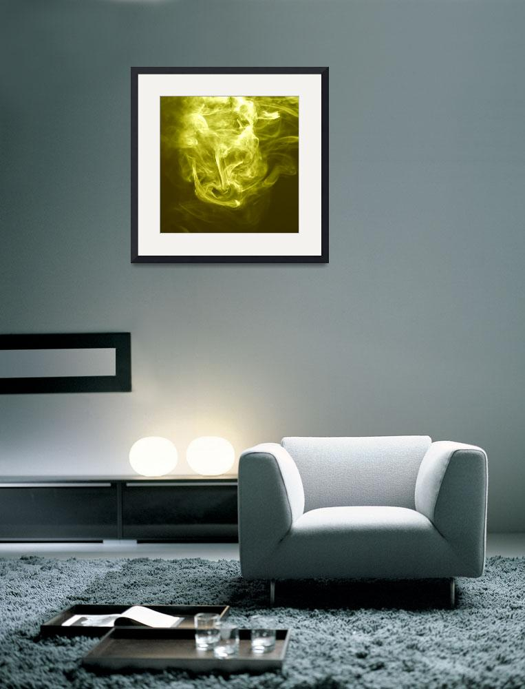 """""""Yellow Smoke&quot  (2009) by NightQueen"""