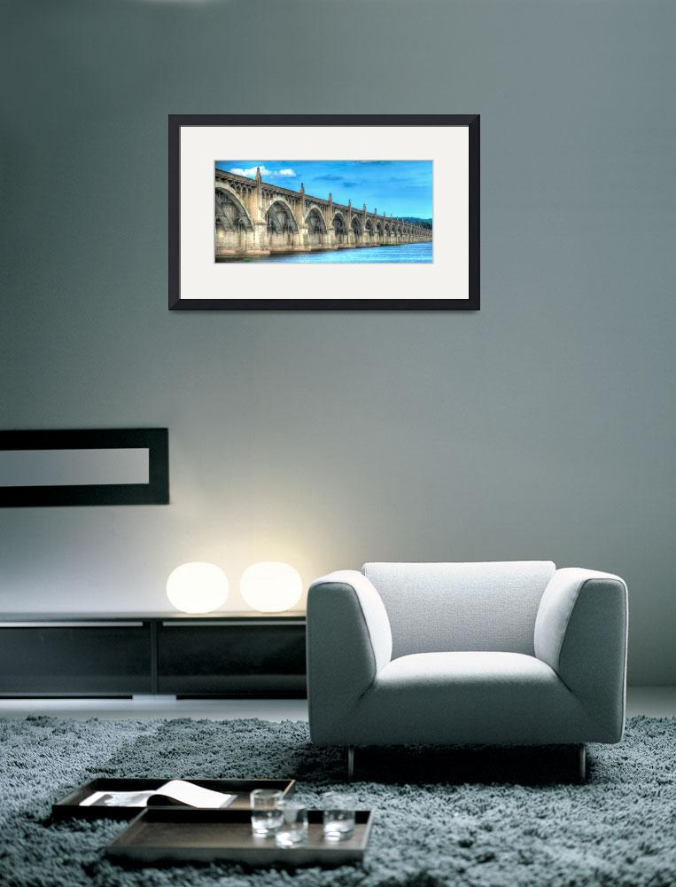 """""""Columbia-Wrightsville-Bridge&quot  (2014) by Shadrags"""