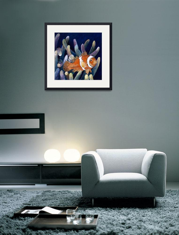 """clown fish""  (2004) by WmBock"