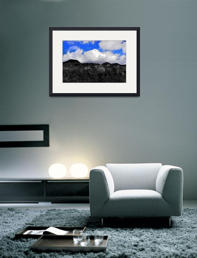 """""""DSCN0291 Lost in the Clouds 13x20&quot  (2014) by EDi"""