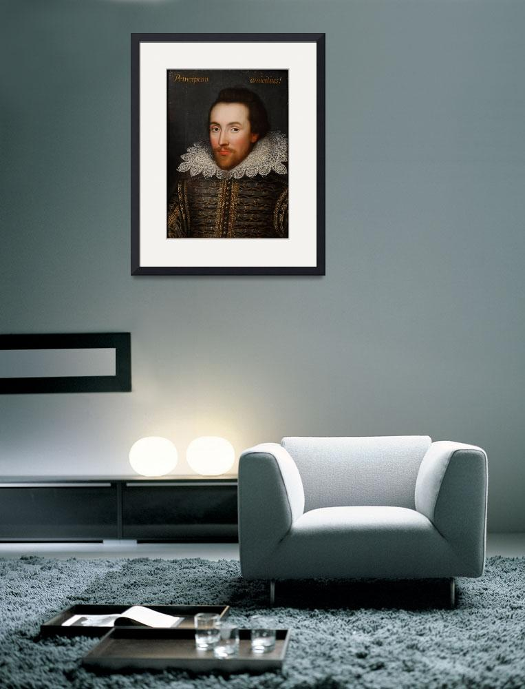 """Vintage William Shakespeare Portrait&quot  by Alleycatshirts"