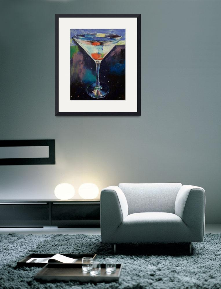 """""""Bombay Sapphire Martini&quot  by creese"""