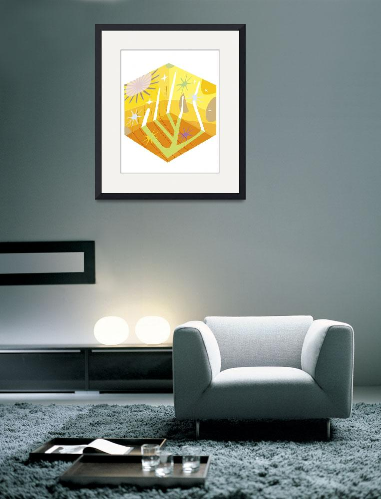"""""""Square Sun&quot  (2011) by charker"""