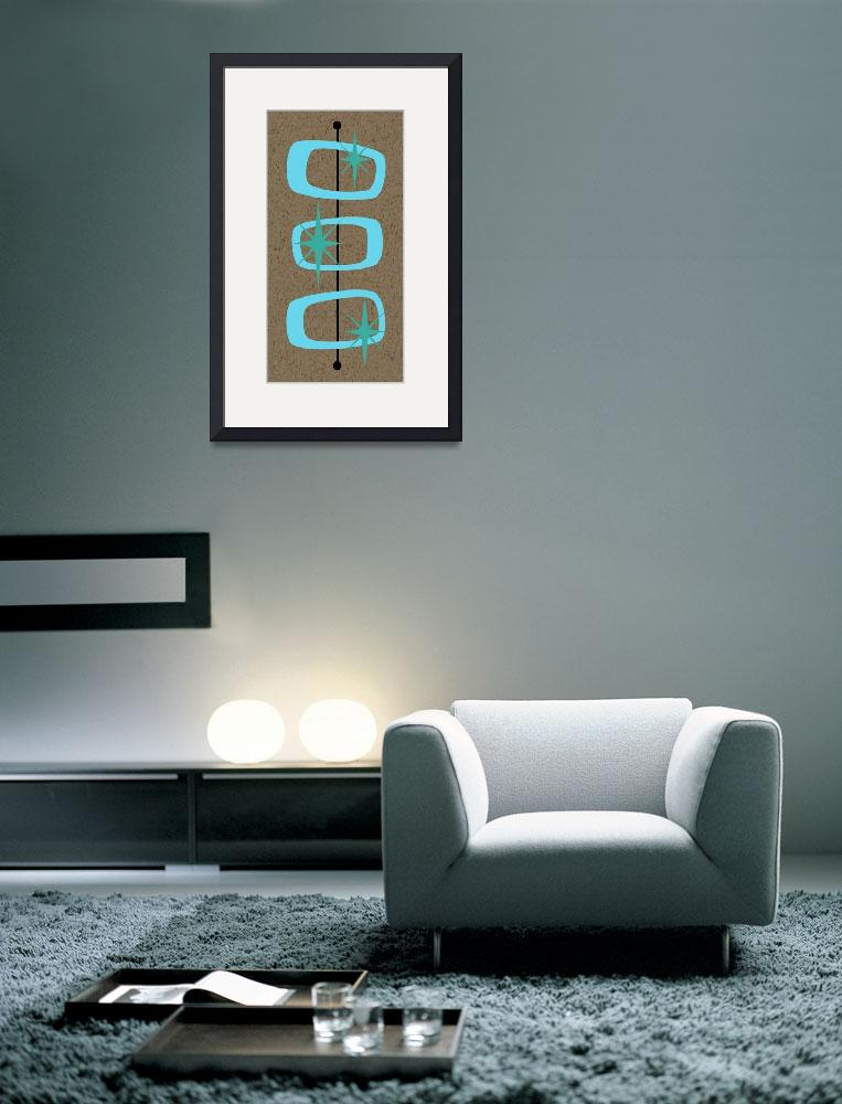 """""""Mid Century Modern Shapes 1&quot  by DMibus"""