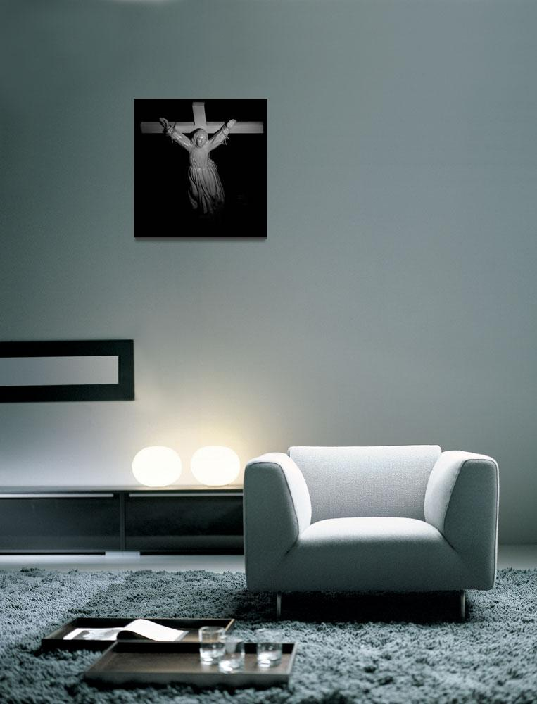"""woman on the cross""  (2012) by mfrade"