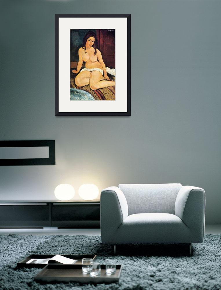 """""""Amedeo Clemente Modigliani Painting 5&quot  by ArtLoversOnline"""