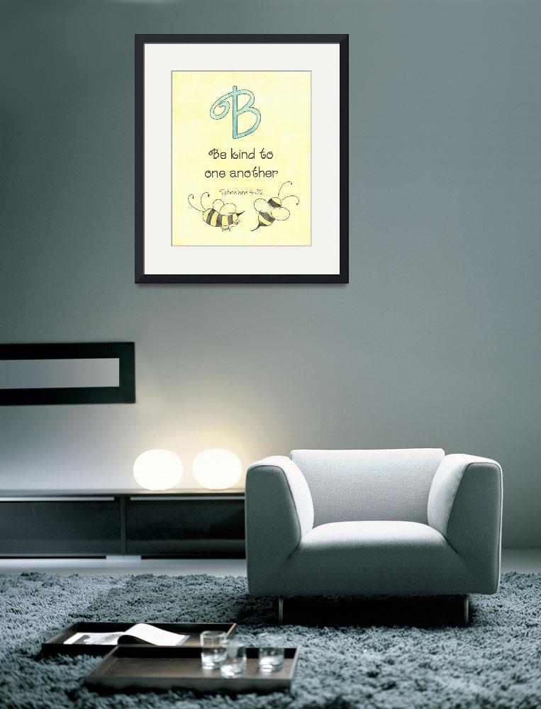 """""""Letter B - Ephesians 4:32""""  (2007) by tglover"""