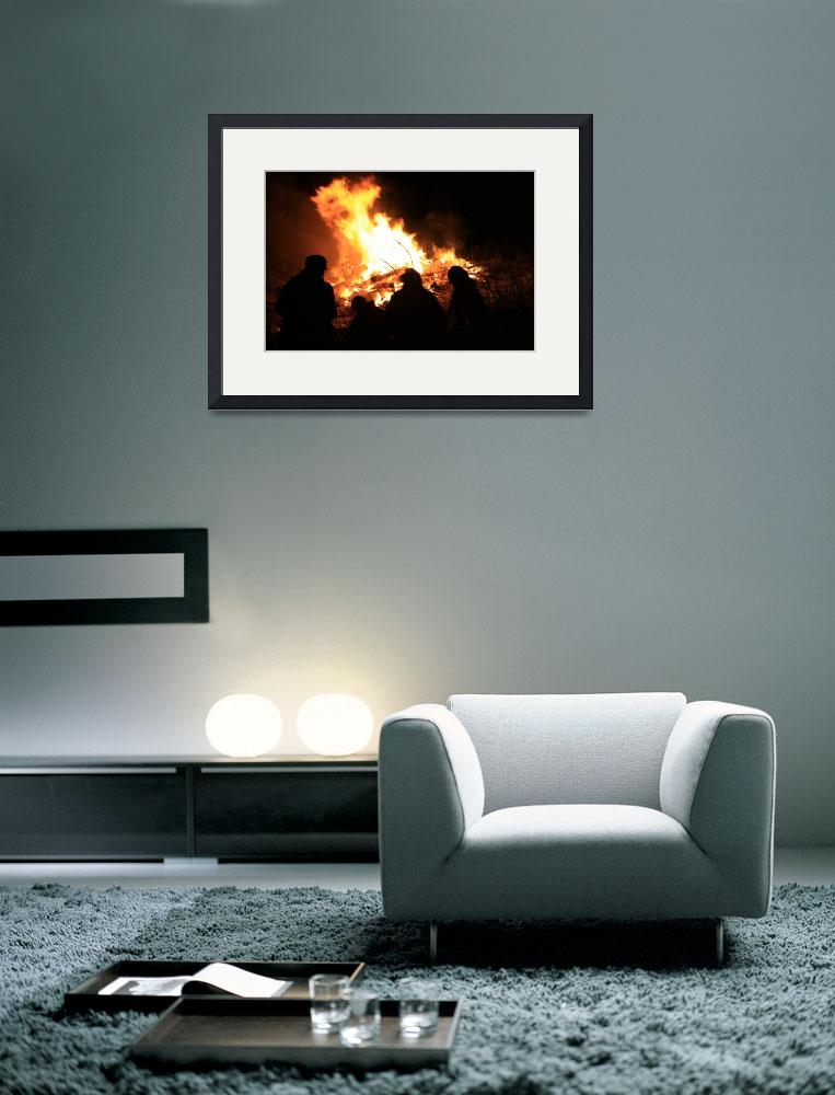 """""""North Beach Bonfire 18&quot  (2009) by dmarshall"""