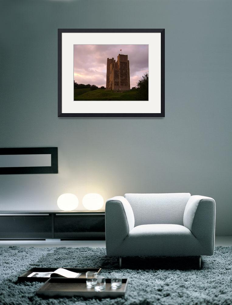 """Orford Castle""  (2008) by Daniel_Bollans"
