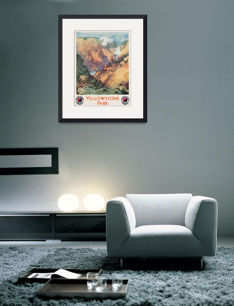 """""""Yellowstone Park&quot  by fineartmasters"""