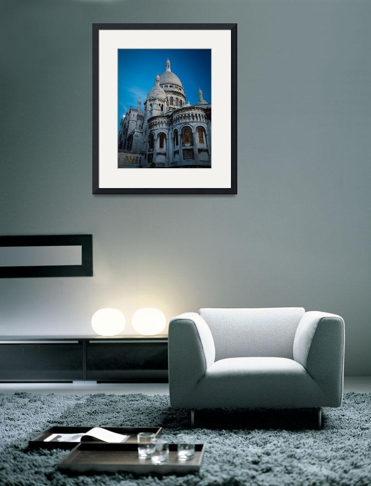 """""""Sacre-Coeur at Night&quot  (2012) by Inge-Johnsson"""