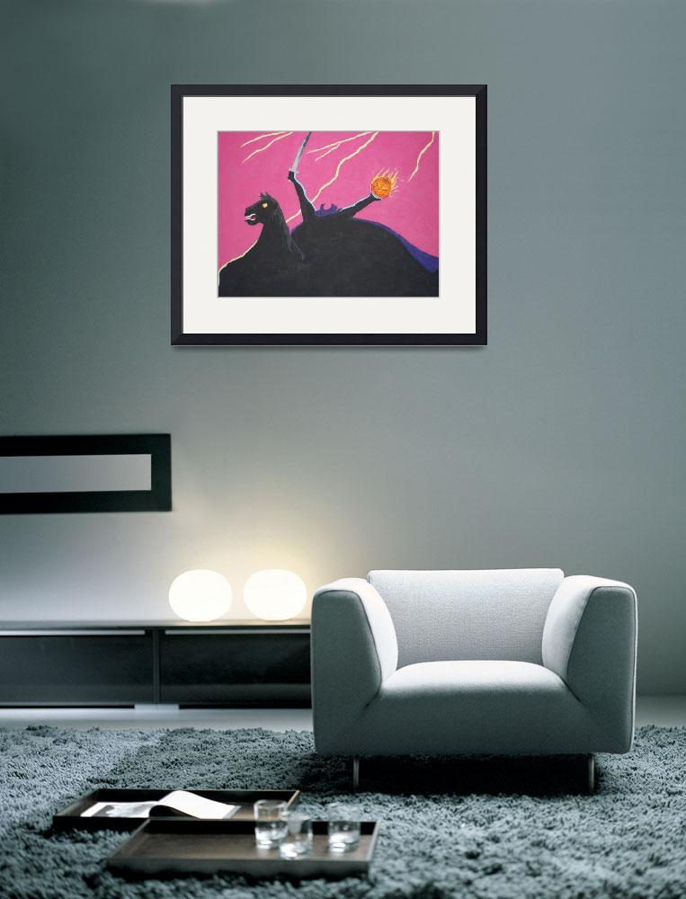 """""""Horseman&quot  (2009) by SillySpook"""