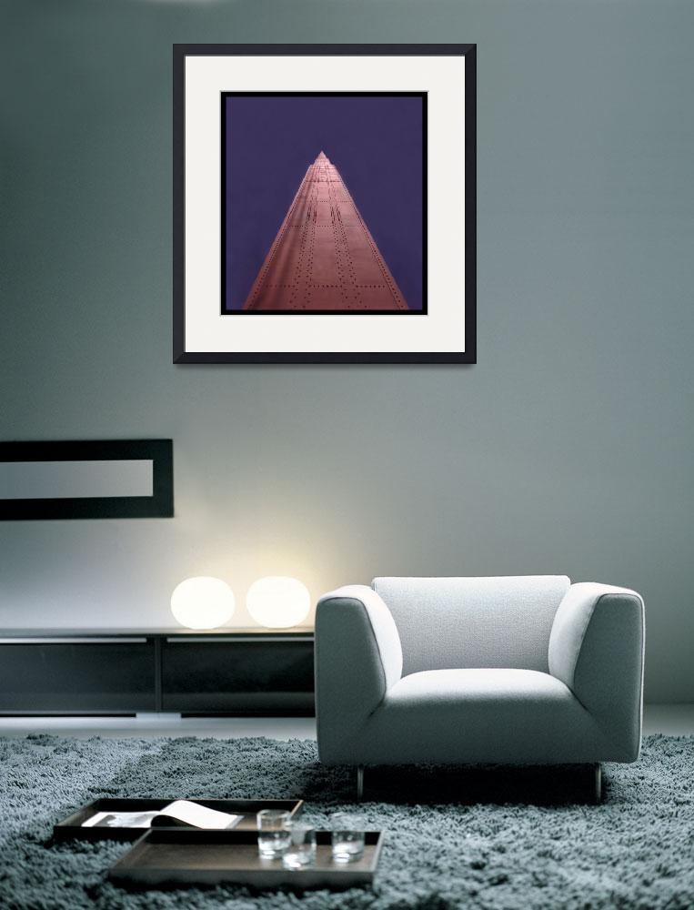 """""""Golden Gate Bridge without Cables&quot  by worldwidearchive"""