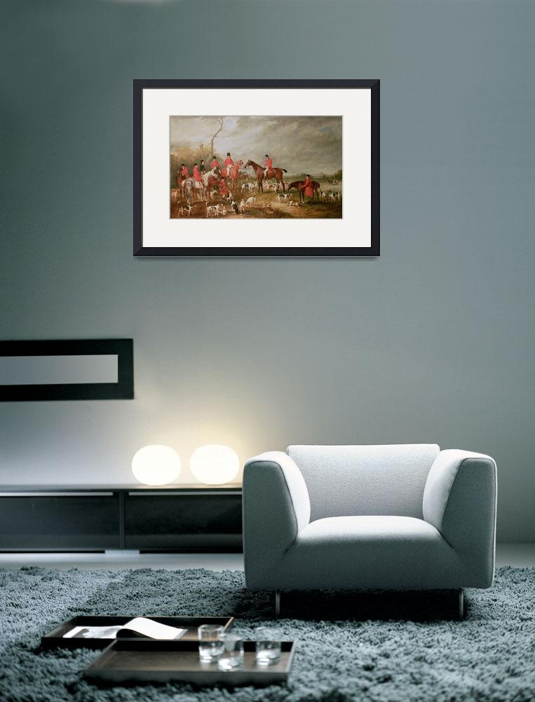 """""""The Birton Hunt&quot  by fineartmasters"""