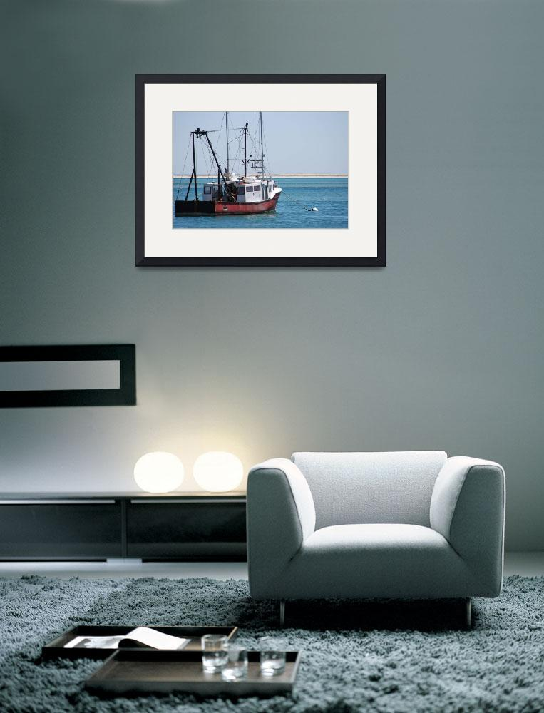 """Cape Cod Fishing Boat&quot  by triemichaud"