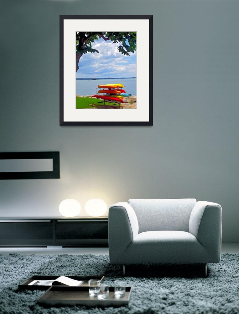 """""""colorfull seascape&quot  (2009) by waynelogan"""
