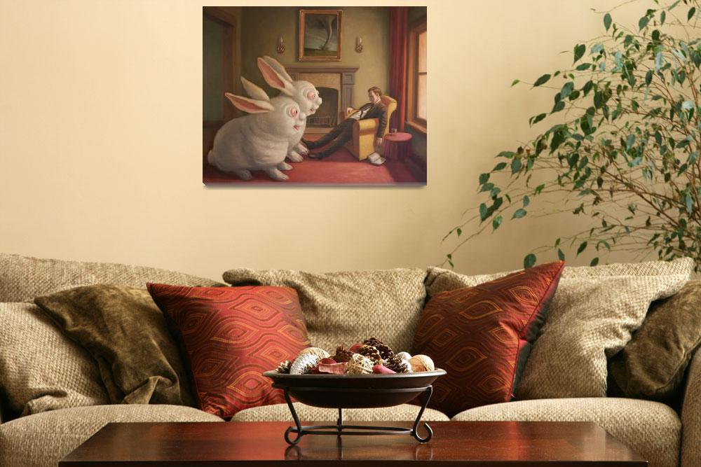 """""""Too Much  Bunny""""  (2014) by MarkBryan"""