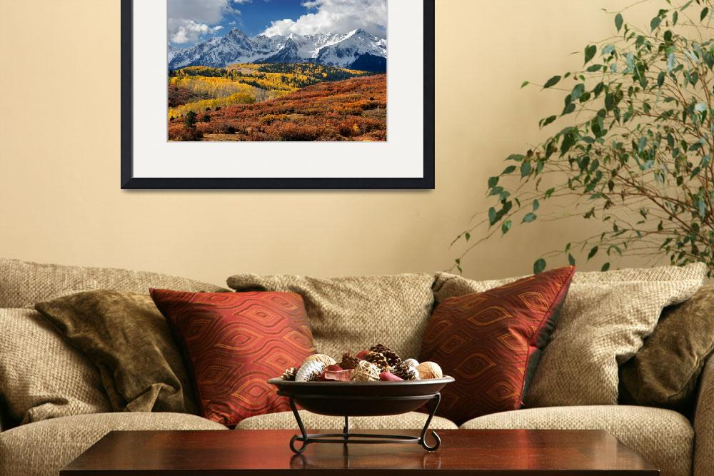 """The San Juan Mountains In Fall""  (2009) by pbk"
