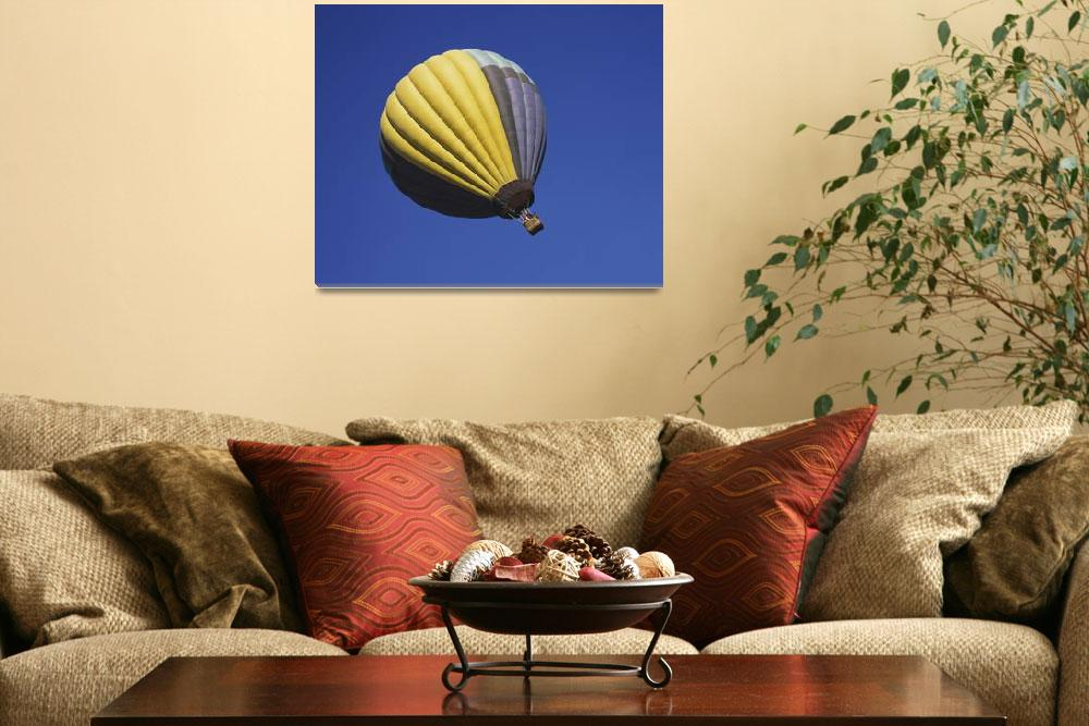 """""""Low angle view of a hot air balloon in the sky&quot  by Panoramic_Images"""