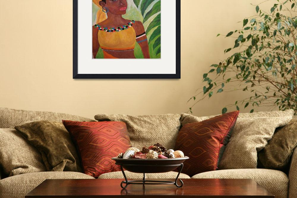 """""""Caribbean beauty&quot  (2009) by junebug622"""